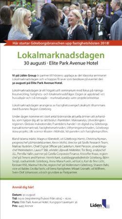 Partnerinbjudan Lokalmarknadsdagen 2018